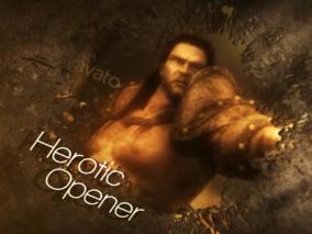 游戏宣传风格片头 视频模板AE