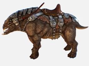 次时代PBR怪物生物山乳齿象