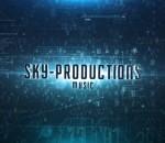 天空技术影视预告片 视频模板AE