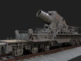 武装炮火火车车厢