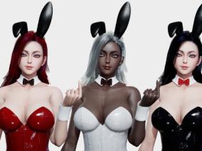 次时代PBR性感兔女郎