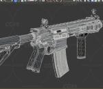 突击步枪 R4C 冲锋枪 枪支