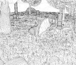 ue4 4.25版本 卡通小村庄 森林 宝藏 遗迹祭祀 古罗马建筑 森林石头 虚幻4