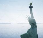 ue4 4.26版本 自由女神像 美国现代城市 码头 自然景色 大海港口 虚幻4