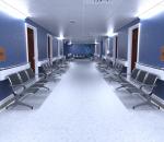 医院 候诊区 门诊 医院走廊
