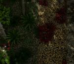 ue4 巨型森林场景 植物 花草树木 大自然场景 写实场景 杨树 雪景 虚幻4