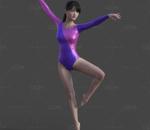 瑜伽服 舞蹈服装 美体减肥操 性感美女 写实女性