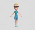 运动休闲服阳光少年 boy 小学生 穿短裤短袖小孩 小男孩 卡通人物