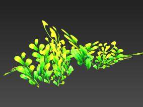 Q版 游戏场景 植物 鲜花 小草 植被 树木