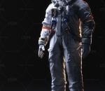 次时代PBR载人航天员CG