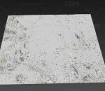 马德里3d模型 西班牙首都 马德里地形 马德里沙盘 鸟瞰 三维城市简模 国外 地图 沙盒