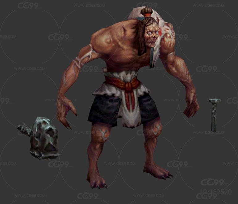 古风 玄幻 武侠 写实 手绘 人物 怪物 古墓工匠