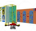 儿童攀爬墙,积木墙,儿童设施