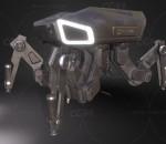 PBR次世代 机甲 电子狗  3D模型