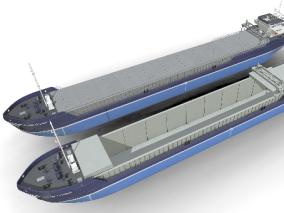 货轮 货船 油船 集装船 货运 集装箱 液化气船 天然气船 港口 3d模型