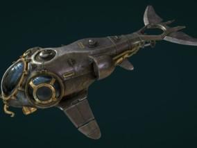 科幻未来 科技太空 宇宙 飞船 Submarine