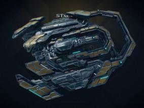 科幻未来 科技太空 宇宙 飞船 Eclipse