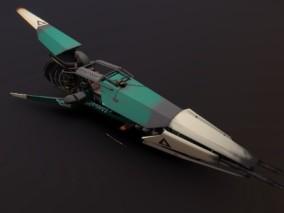 科幻未来 科技太空 宇宙 飞船 MK II