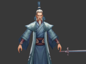 古风 玄幻 武侠 写实 手绘 人物 怪物 西域酒剑仙