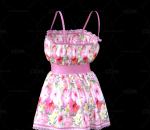 服装   吊带裙