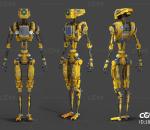 智能机器人AI 人工智能 外星人 科幻写实