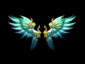 西幻 魔幻 北凉han刀行  翅膀 3d模型