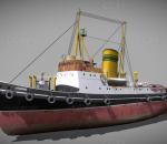 船 游轮蒸汽船 蒸汽轮船 轮船 蒸汽朋克船 渔船 朋克渔船 朋克船 货轮 老式轮船 蒸汽渔船