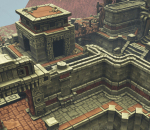 ue4 玛雅文明 古代遗迹 圣庙 古建筑 精致场景 虚幻4