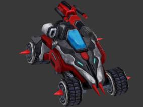 科技 魔幻 Q版 手绘 怪物 机甲 角色