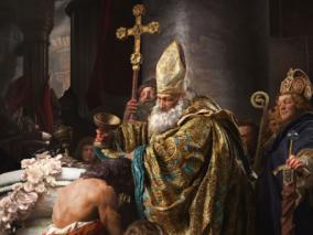 欧洲中世纪KING的洗礼~高端角色设计、场景雕刻
