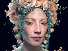 《花冠》来自Artstation:Tran Ma 次时代