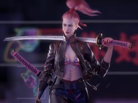 《赛博朋克女孩》次时代 科幻 CG