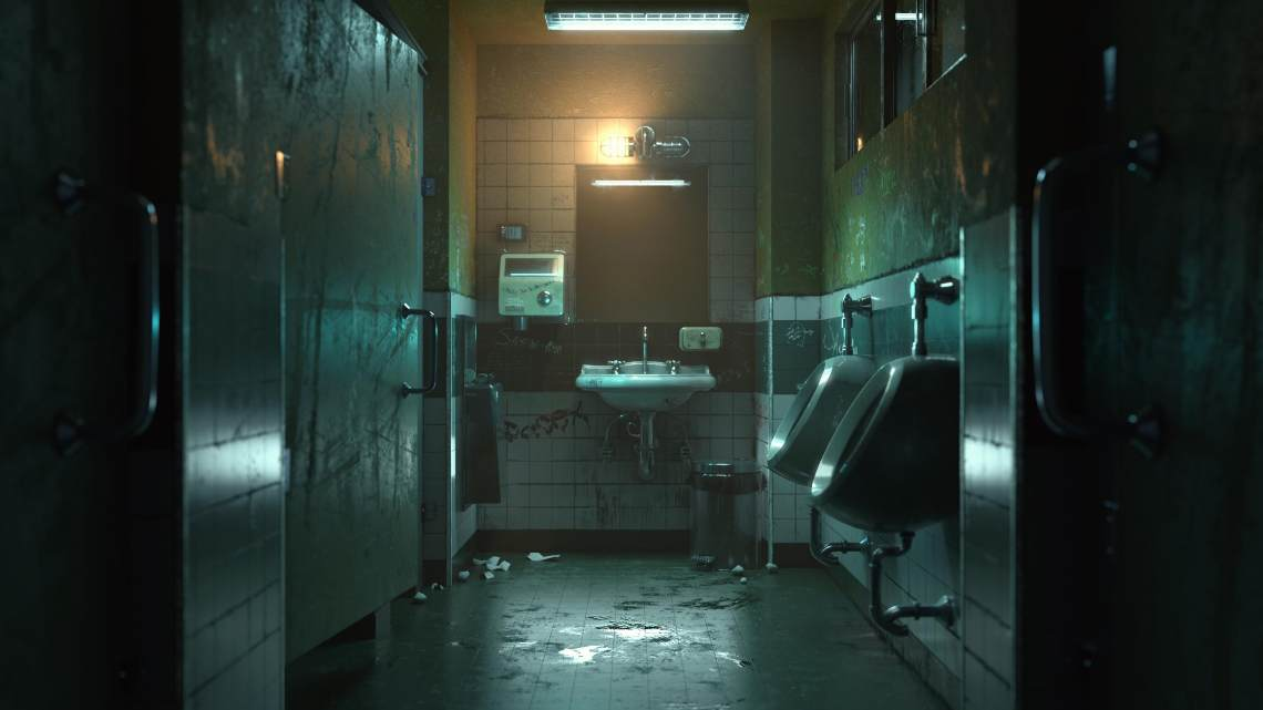 压抑的厕所      作者:亿籽