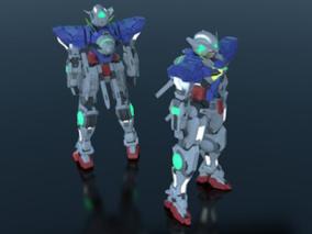 能天使高达模型(已绑定)  机器人