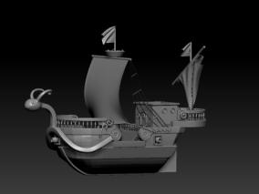 海贼船cg模型