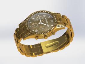 写实名贵手表3D模型