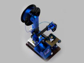 3d打印机3d模型