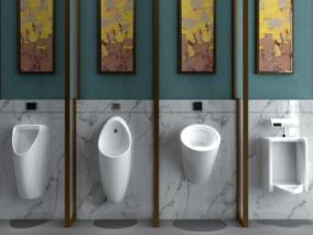 男厕所cg模型
