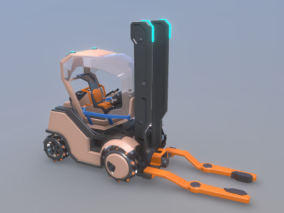 创意机械设备3D模型