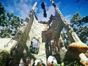 龙巢cg模型