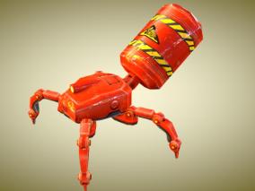 机械蜘蛛max模型