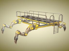 四脚机器max模型