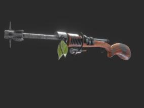 枪械cg模型