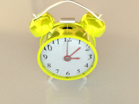 闹钟cg模型