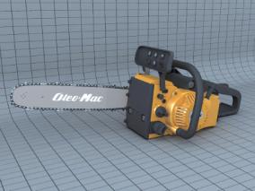 电锯3d模型