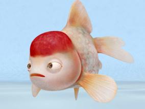 金鱼3d模型