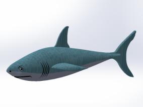 鲨鱼cg模型