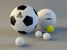 球cg模型