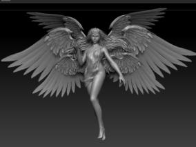 天使cg模型