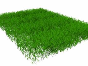 草地3D模型